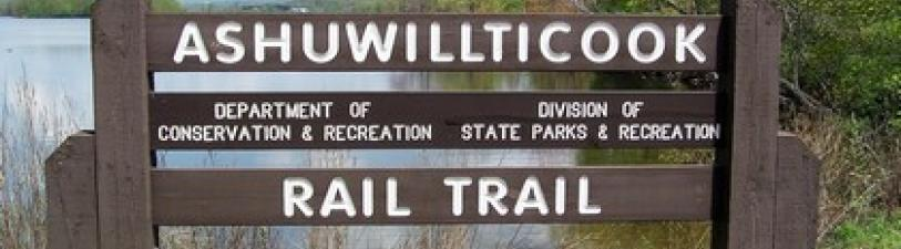Ashuwillticook Rail Trail Sign